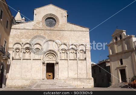Termoli (Campobasso, Molise, Italy) - Cathedral facade stock photo, Termoli (Campobasso, Molise, Italy) - Cathedral facade by clodio