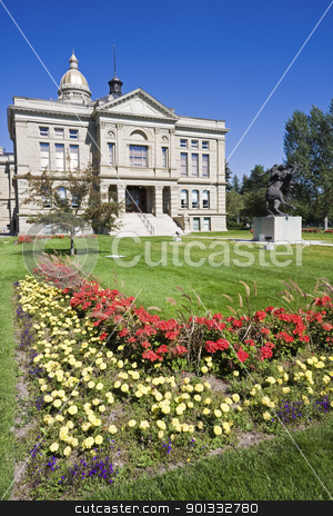 State Capitol of Cheyenne stock photo, State Capitol of Cheyenne in Wyoming. by Henryk Sadura