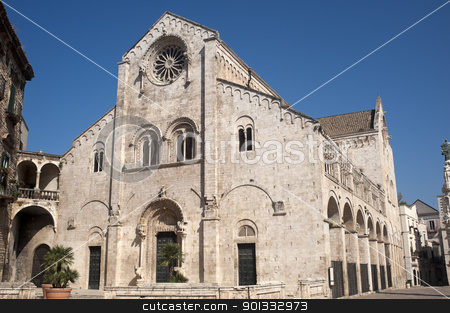 Bitonto (Bari, Puglia, Italy) - Old cathedral in Romanesque styl stock photo, Bitonto (Bari, Puglia, Italy) - Old cathedral in Romanesque style by clodio