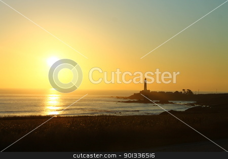 Half Moon Bay Sunset stock photo, A sunset in the Half Moon Bay by San Francisco by willeye