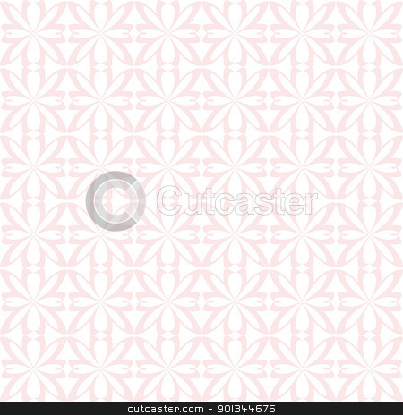 Seamless pattern stock vector clipart, Abstract background of beautiful seamless floral pattern by Ingvar Bjork