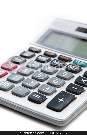 Large calculator.  stock photo, Large calculator.  by Keng po Leung