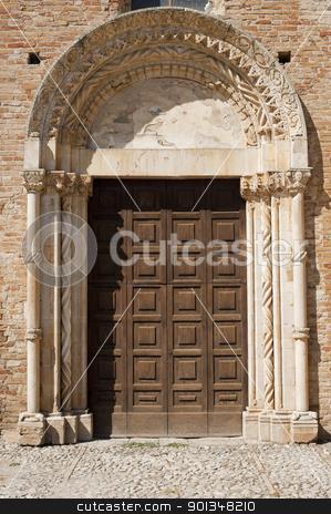Santa Maria di Propezzano (Teramo, Abruzzi, Italy) - Romanesque  stock photo, Santa Maria di Propezzano (Teramo, Abruzzi, Italy) - Romanesque church by clodio