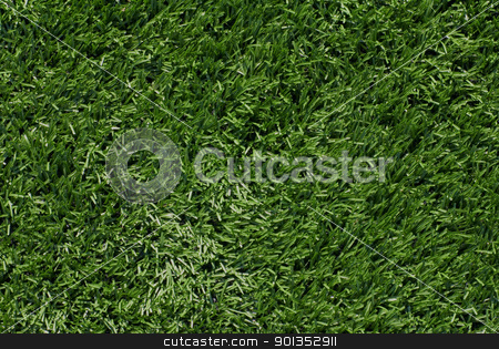 Artificial Turf Background stock photo, Full frame view of artificial turf football field by saje
