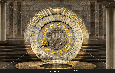 The vault of Time stock photo, Timeless vibration by Desislava Draganova