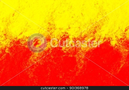 Fire water stock photo, Colourful water background which looks like fire by steve ball