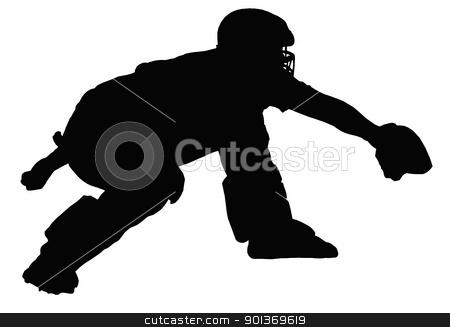 Baseball-Catcher Erwar...