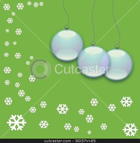 green stock photo, abstract art background ball blue celebration christmas clip cold color culture by tijana90