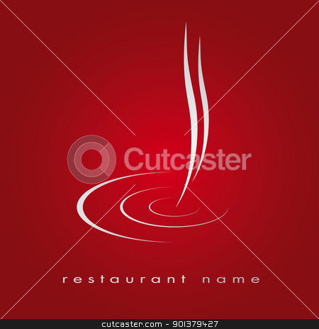 Logotype Menu Beverages stock vector clipart, Logotype for cuisine, fast food, coffee, espresso by tristanbm
