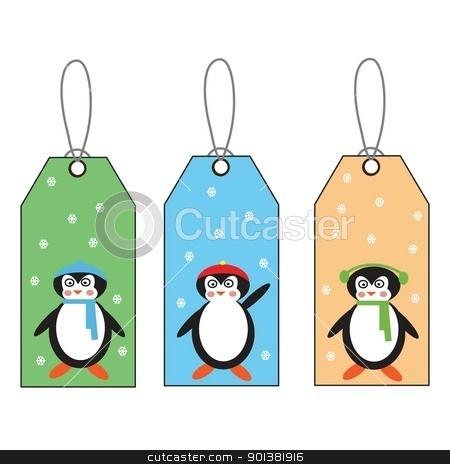 label stock photo, postcard mail birthday packing gift season game children by tijana90