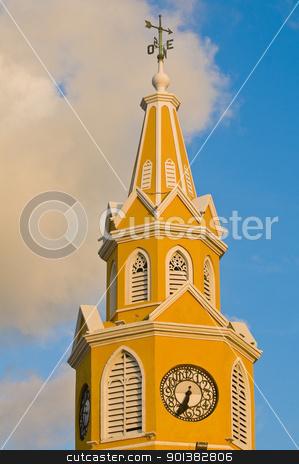 Cartagena de Indias stock photo, Cathedral in