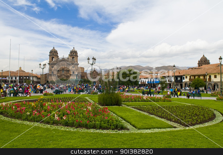 Cusco stock photo, The