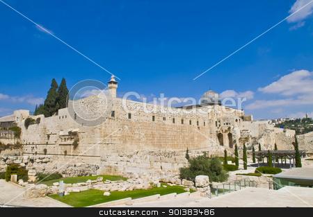 Jerusalem old city  stock photo, the old city of jerusalem in israel by Kobby Dagan
