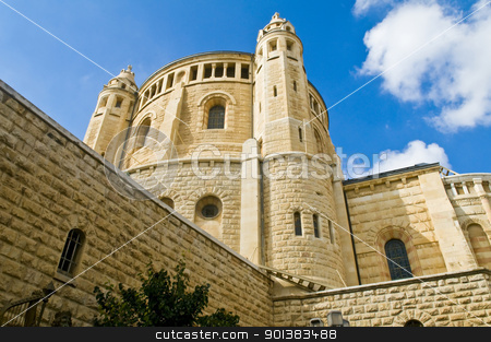 Hagia Maria Sion stock photo, The