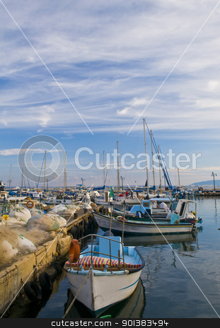 Acre port stock photo, The historic port of Acre in north Israel by Kobby Dagan