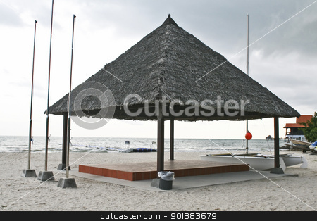Tropical sun shade stock photo, Tropical sun shade by Haider Azim