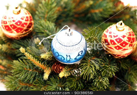 Christmas decoration stock photo, Christmas decoration by Nenov Brothers Images