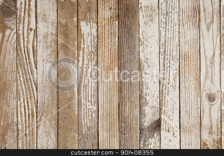 old wood painted white stock photo, grunge wood background with old white paint by Marek Uliasz