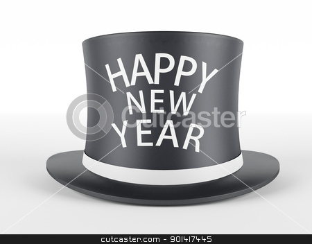 Happy New Year stock photo, Happy New Year by dacasdo
