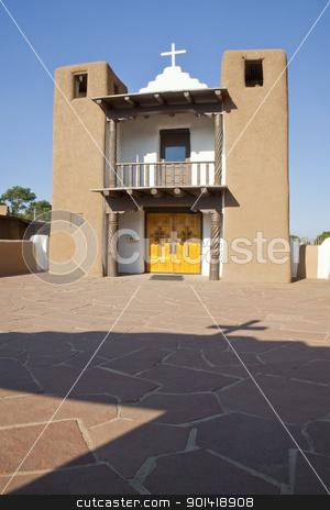 San Geronimo Chapel stock photo, San Geronimo Chapel, Taos Pueblo aka Pueblo de Taos, Taos, New Mexico by Bryan Mullennix