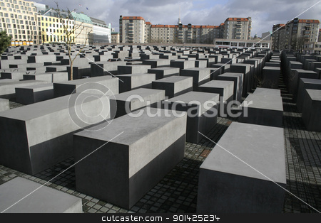 jewish memorial stock photo, jewish memorial, berlin, germany by Paul Prescott