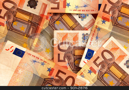 euro background stock photo, euro background by sutike