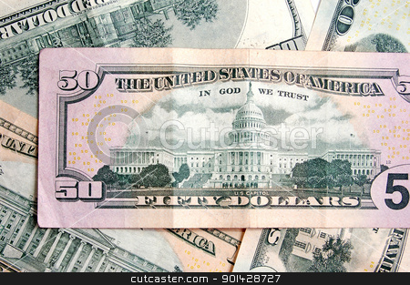 Dollar backround stock photo, Dollar backround by sutike