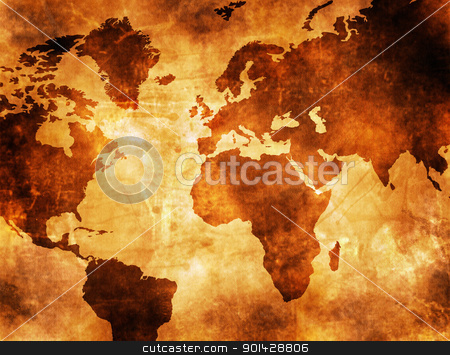 MAP OF THE WORLD  stock photo, MAP OF THE WORLD  by sutike
