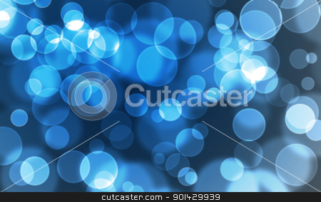 abstract glowing circles stock photo, abstract glowing circles on a blue background by sutike