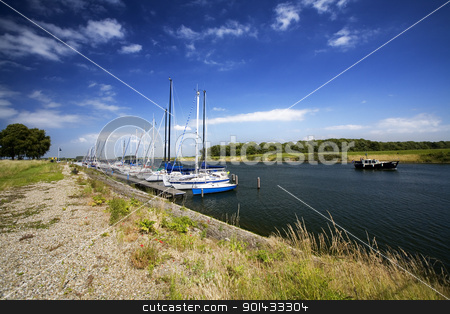 small dutch harbour stock photo, small dutch harbour   by klenova