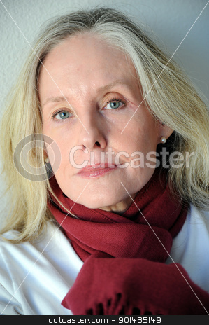 Mature female beauty. stock photo, Mature female beauty expressions . by OSCAR Williams