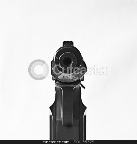 Makarov.The most well-known gun in Russia stock photo, Makarov is a very popular gun in Russia. It is very reliable. Does not give misfires by Lacroix