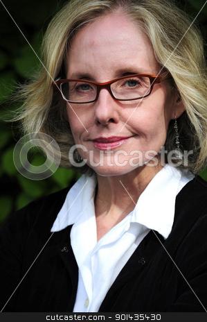 Businesswoman. stock photo, Portrait of a professional businesswoman. by OSCAR Williams