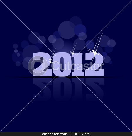 Abstract Christmas or New Year background. stock vector clipart, Abstract Christmas or New Year background. EPS10 Vector by Leonid Dorfman