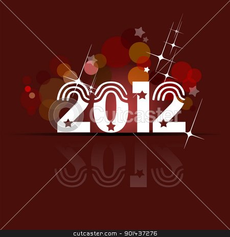 Christmas and Happy New Year Illustration. EPS10 Vector stock vector clipart, Christmas and Happy New Year Illustration. EPS10 Vector by Leonid Dorfman