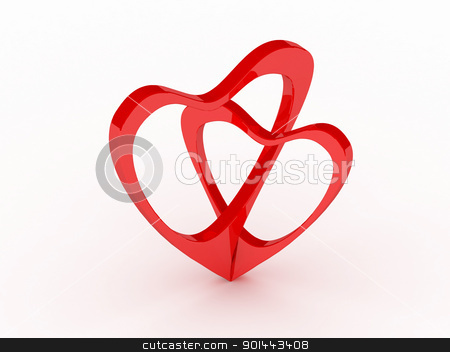 Valentine's Day card  stock photo, Valentine's Day card  by dacasdo