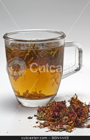 Oswego tea stock photo, Oswego tea by Hans-Joachim Schneider