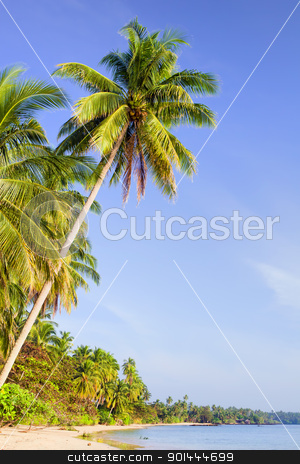 Tropical Island Scenery stock photo, Tropical island exotic scenery in Thailand, lots of copy space by Rognar