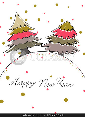 Merry Christmas and Happy New Year,  stock vector clipart, beautiful vector  illustration for all occasion   by Abdul Qaiyoom