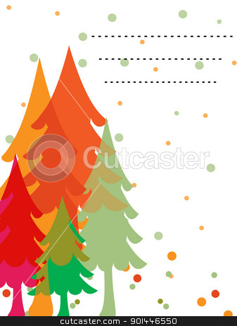 vector decorative card stock vector clipart, Beautiful Stylish Christmas Card  by Abdul Qaiyoom