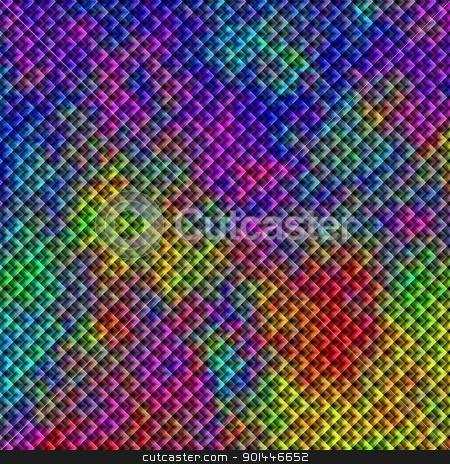 kaleidoscope stock photo, Abstract kaleidoscope background wallpaper or backdrop by Henrik Lehnerer