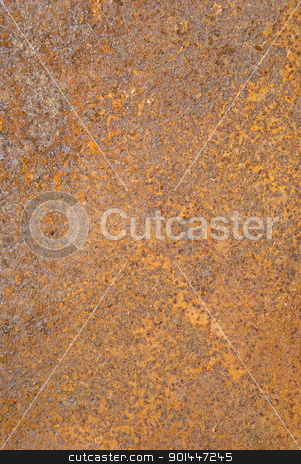 Closeup of rusty metal tin surface background. stock photo, Rusty metal tin background. Closeup of steel plate and its surface. by sauletas
