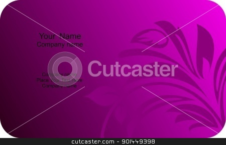 Illustration of  template card company label with name stock vector clipart, Illustration of template card company label with name. Vector by -=Mad Dog=-
