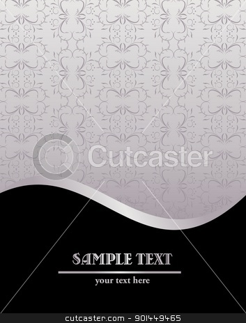 Vintage background stock vector clipart, Vintage background. Vector by -=Mad Dog=-