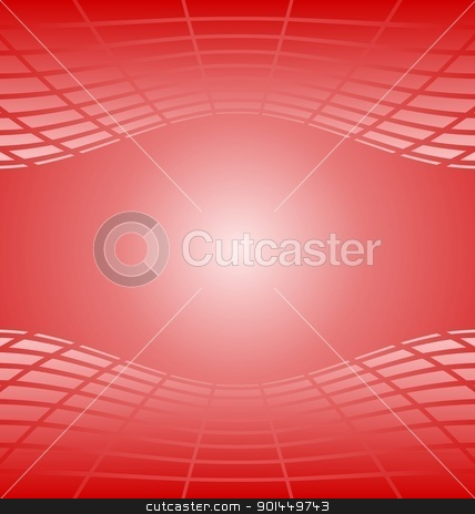 Illustration of red abstract background for design stock vector clipart, Illustration of red abstract background for design card. Vector by -=Mad Dog=-
