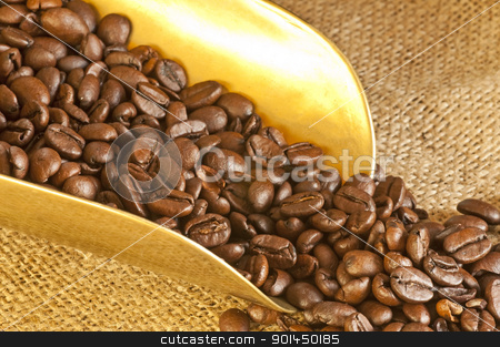 coffee beans  stock photo,  by Hans-Joachim Schneider