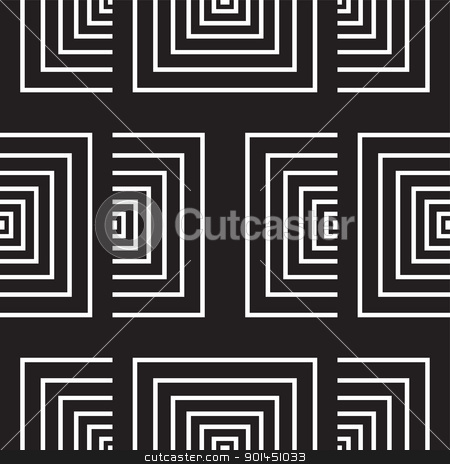 seamless monochrome pattern (vector) stock vector clipart, seamless monochrome pattern, perfectly tile-able both horizontally and vertically; scalable and editable vector illustration; by Mila Petkova