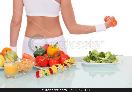 Leading a healthy lifestyle stock photo, Leading a healthy lifestyle by photography33