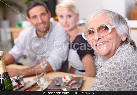 family having dinner stock photo, family having dinner by photography33