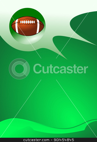 American football sport background stock vector clipart, American football sport background, illustration by Jupe
